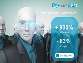 Tặng miễn phí gói Robot phần mềm SmartRPA 6 tháng (trị giá 35 triệu đồng/gói)